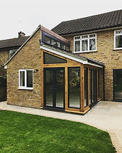 Extension recently finished in amersham.