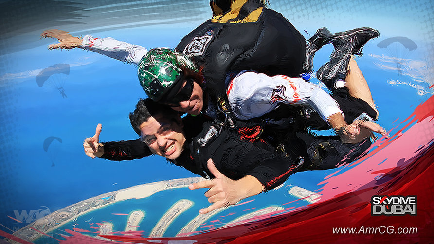 It was great experience and fun in the first 60s free fall above palm Jumeirah.  One of things that I must do it again!     It's great to be part of this important event in Dubai - UAE  WAG DUBAI 2015  World Air Games 2015     #dubai #UAE #wag #wagdubi #skydivedubai #flying #skydive #palmjumeirah #jumeirah #dxb #worldairgames #rob #rhys #amrcg #amrcgfb #amrcgd #amr_abdelhamed #sports #life #sky
