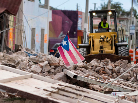 Puerto Rico Gov Urges U.S. Senate to pass Earthquake Disaster Relief Legislation