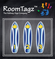 Surfboard Sign