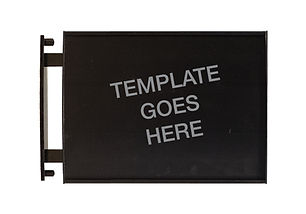 Deluxe Insertable Sign