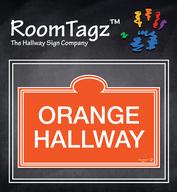 Orange Colored Sign