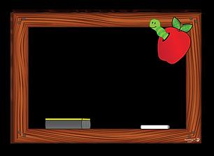 101 Apple-Worm Chalkboard 22_32x15_5 ART