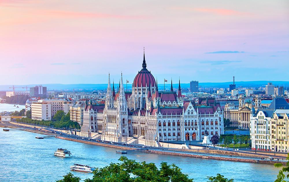 budapest, river cruise, danube river