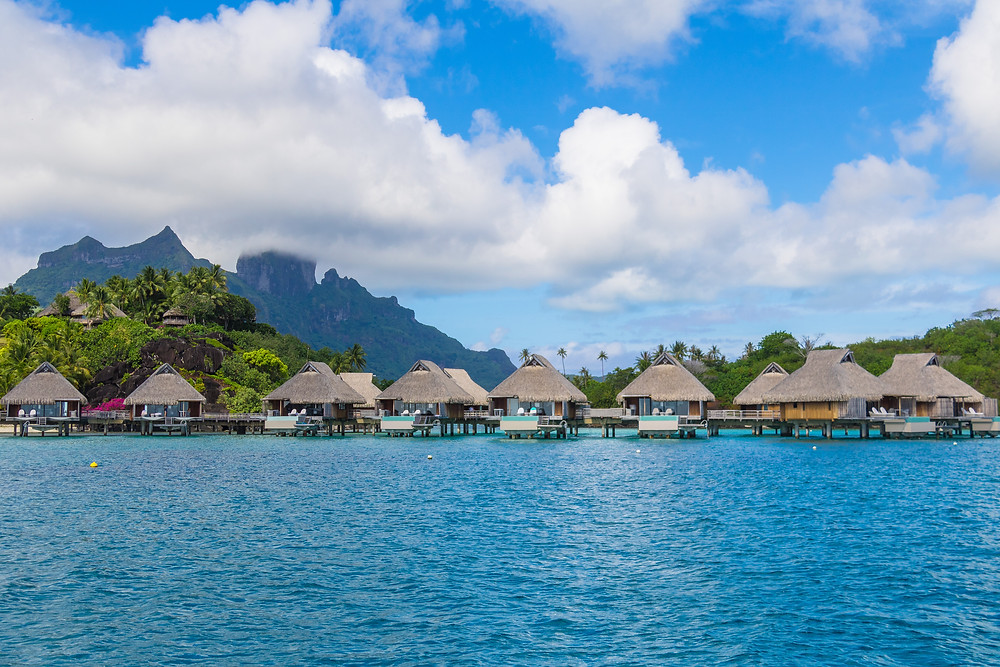 luxury overwater bungalow bora bora