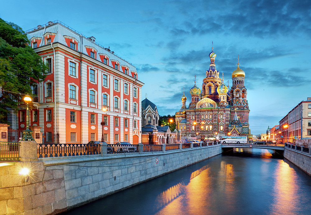st petersburg russia church of spilled blood