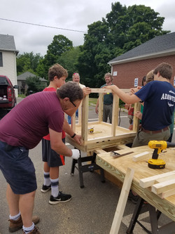 1st annual build off 2016