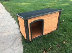 our medium dog house