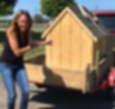Susan Paneccasio, creator/owner of Project Pet Houses