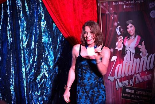 Zatanna, mentalist shows, Fringe World magician, Comedy magician Perth, transgender actress, Theatre of the mind, illusionist Perth, roving act Perth, magic show Perth, best magic Perth,