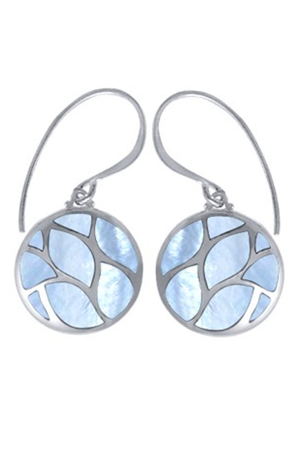 BOMA Mother of Pearl Inlay Earrings