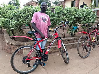 Juma and his bike