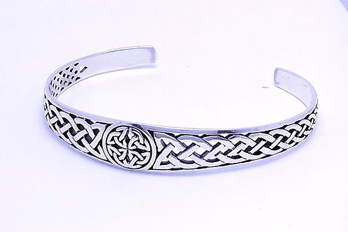 Sterling Silver Celtic Knot Cuff