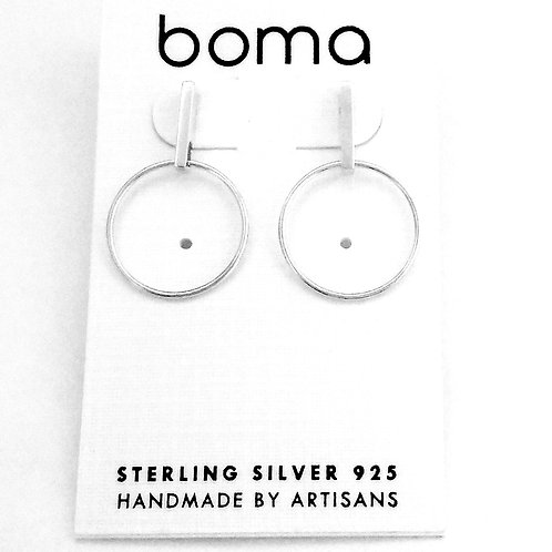 boma Sterling Silver Post Earring