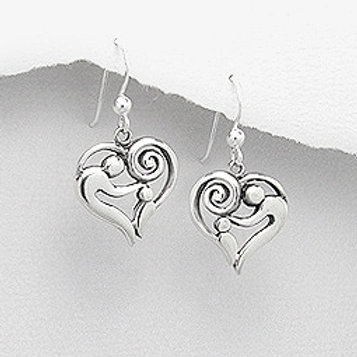 Mother and Child Earrings
