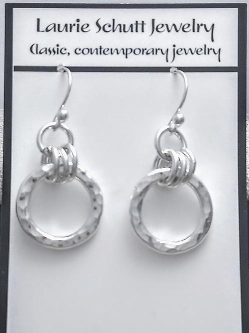 Laurie Schutt Handmade Sterling Earrings
