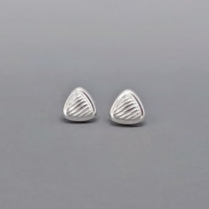 Sterling Silver Contemporary Studs