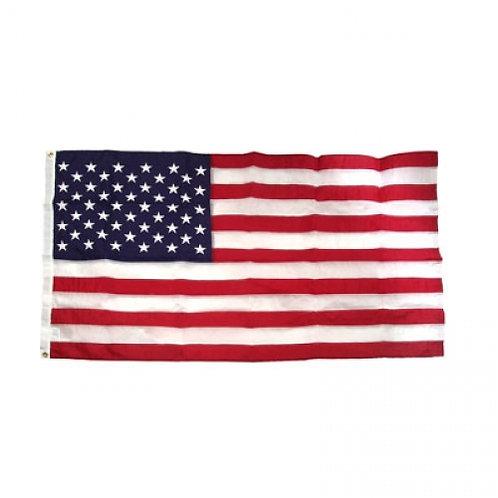 American Flag Sewn Nylon