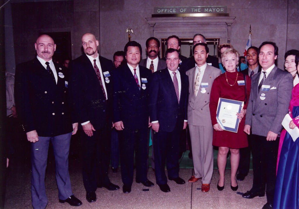 Chicago City Hall w/ Mayor Daley '94