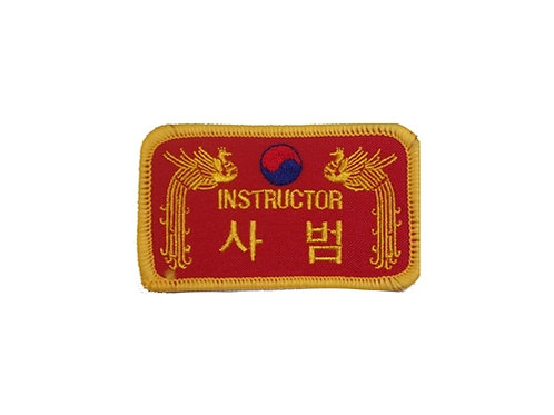 Wholesale - INSTRUCTOR-PATCH