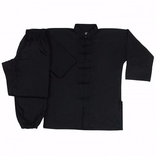 Kung Fu Uniform - Black Buttons
