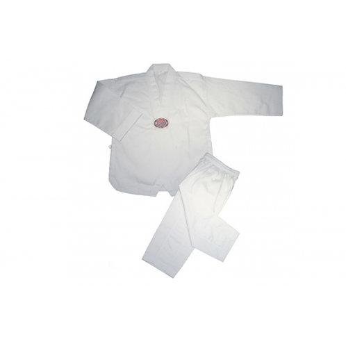 V-Neck Tae Kwon Do Uniform - White