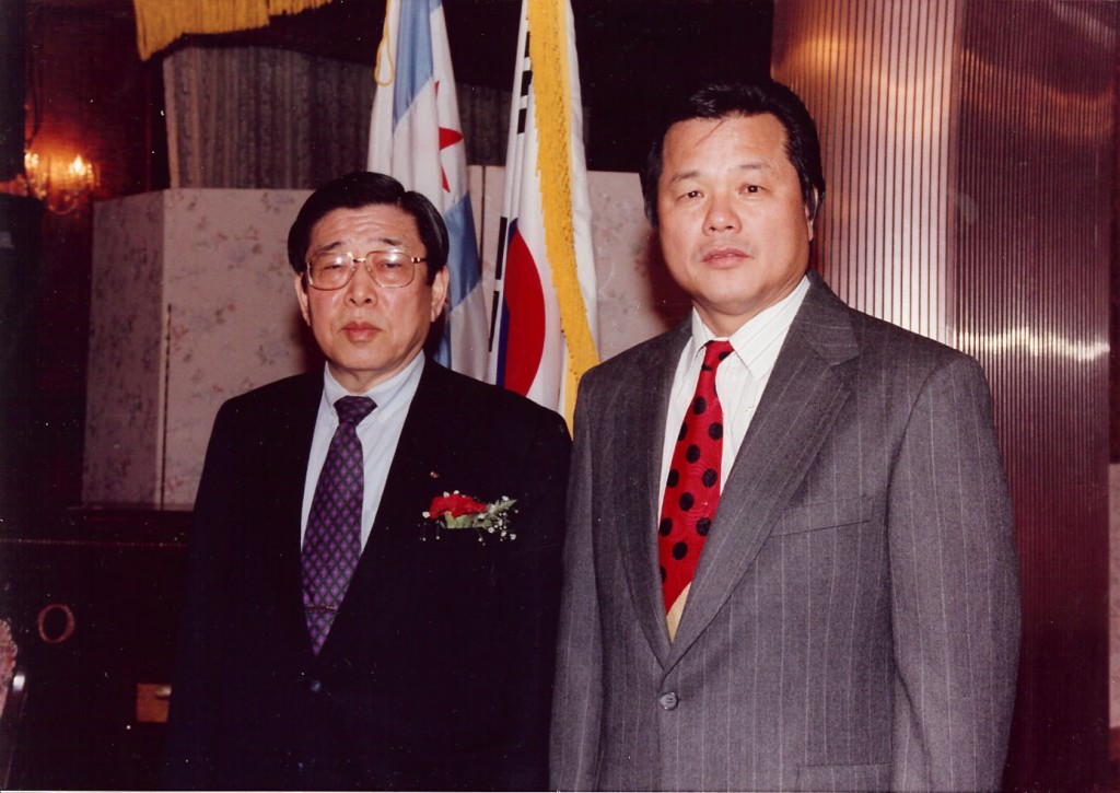 With Dr. Kim, WTF President