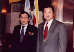 With Dr. Kim, WTF President