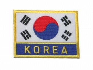 Wholesale - Korea Flag Patch