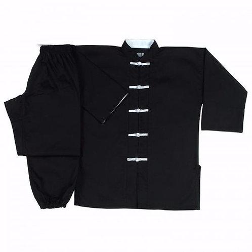 Kung Fu Uniform - White Buttons