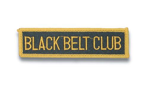 Wholesale -  Black Belt Club Patch