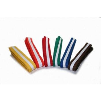 WholeSale - White Striped Belt
