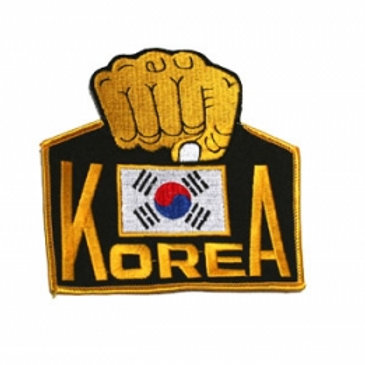 Korea with Fist Patch