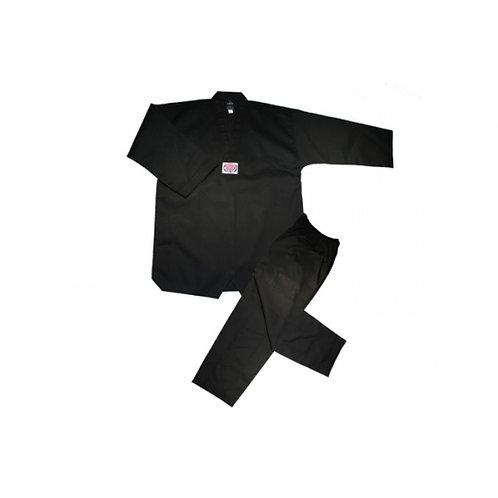 Wholesale -  V-Neck Tae Kwon Do Uniform - Black
