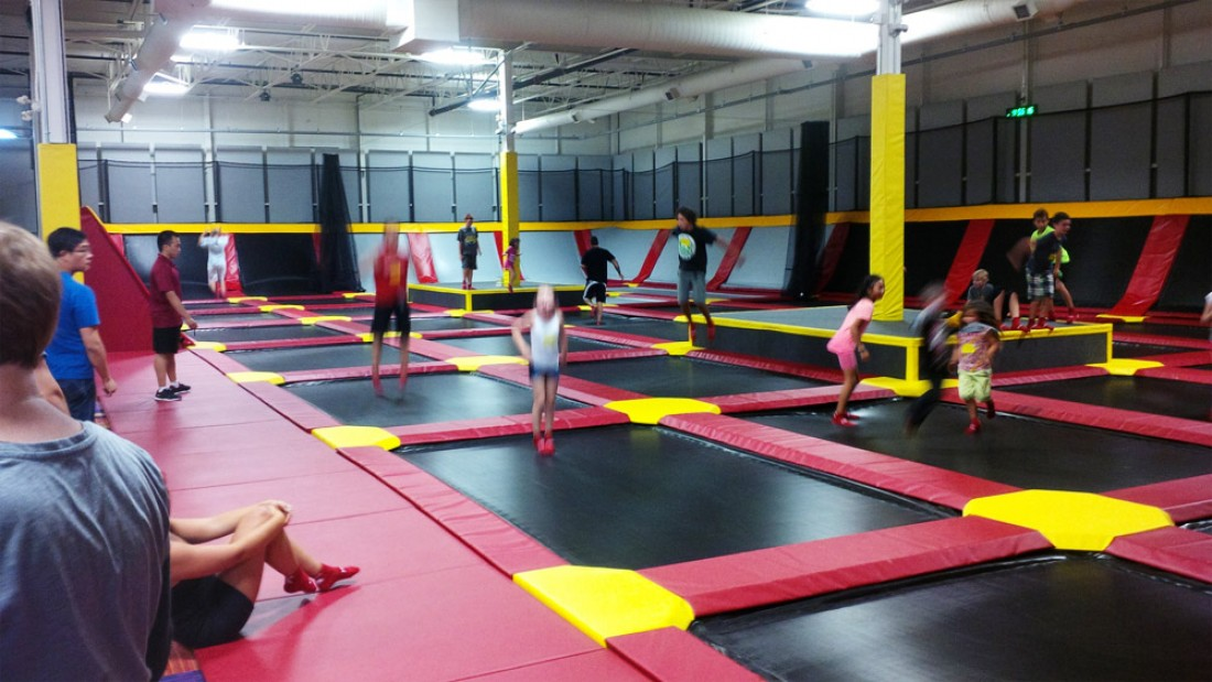 Xtreme Trampoline Park Come Experience Wicked Fun