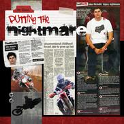 Digital scrapbook page of Jake Nicholls