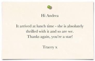Tracey Isherwood, Timperley, Cheshire