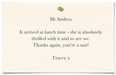 Tracey Isherwood, Timperley, Cheshire