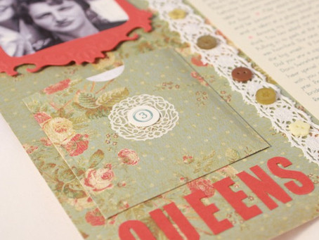 Oh so modern hybrid scrapbooking