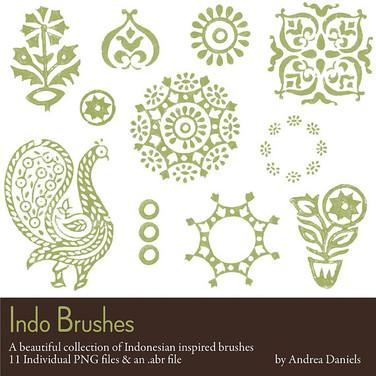 Indo digital brush set