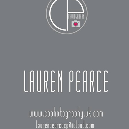 Business card for photography business