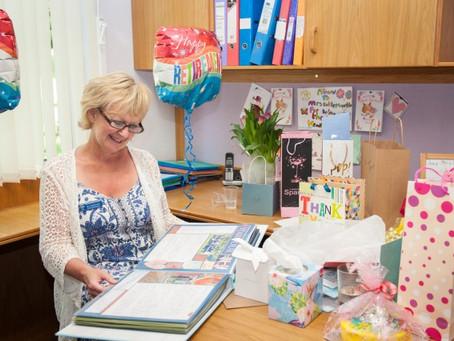 Retirement scrapbook album for Headmistress