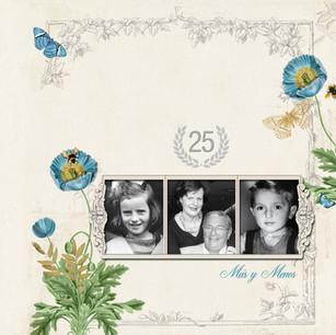 Custom design canvas albums by The Scrap
