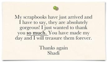 Shadi Halliwell testimonial