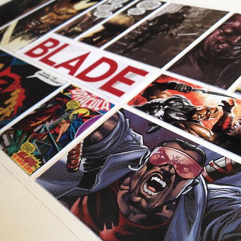 BLADE - Original ComicArt Collage - Limited Edition