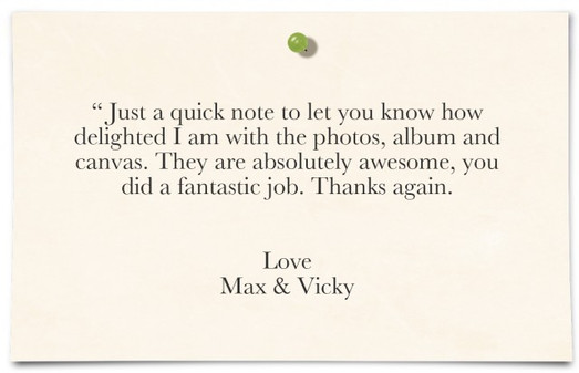 Max & Vicky Rudge, Birmingham