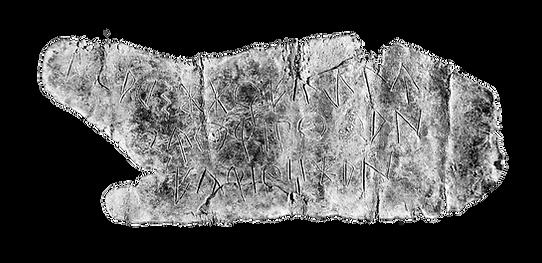 Placa de Plom amb inscripcions ibèriques. Imatge de: Pguerin