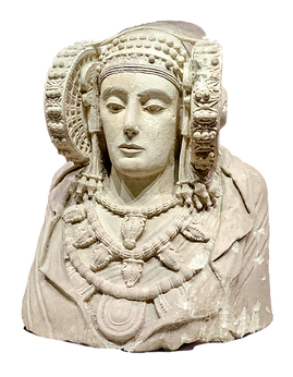 La dama d'Elx. Foto de: Ángel M. Felicísimo (Flickr)