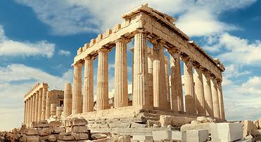 Partenó d'Atenes, temple dedicat a la deessa Atenea.