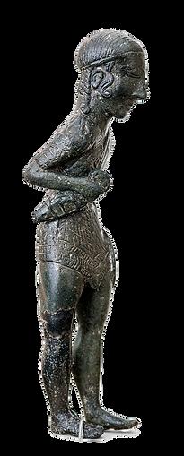 Exvot representant un guerrer. Imatge de: Ángel M. Felicísimo (Flickr)